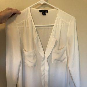 Metaphor white blouse